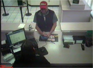 Bank Robber 1 043014